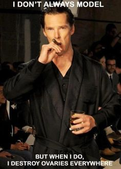 Benedict, why must you be so attractive? #benedictcumberbatch #sherlock #bbc