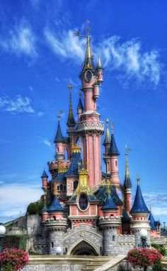 Magic Kingdom Castle by Israel Osterman, via 500px