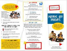 family literacy brochure