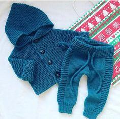 Knitting baby pants boys Best ideas – The Best Ideas Baby Pants Pattern, Crochet Baby Pants, Knitted Baby Clothes, Knit Pants, Crochet Jacket, Baby Knits, Jacket Pattern, Knitting For Kids, Baby Knitting Patterns