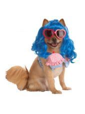 Pup-A-Razzi Cupcake Girl Dog Costume - Party City- its so katy perry, harley quinn would look adorable in this!