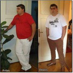 Nome Vitor Ribeiro Suíça, 40 anos Peso Inicial: 137 kg Peso Actual: 120,6 kg Programa Be-Slim Emagrecimento 4 meses Peso perdido: -16,4 kg  https://www.be-slim.pt/testemunhos/aqui-eu-consigo