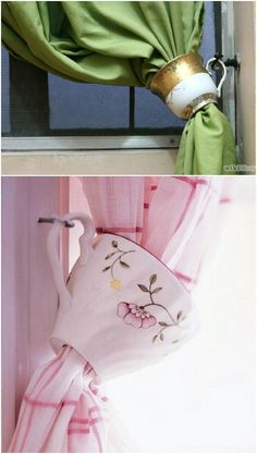 25 Creative And Beautiful Ways To Decorate Your Home With #Upcycled #Teacups