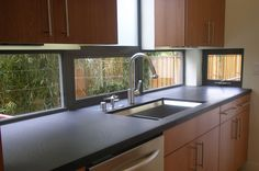 Windows as backsplash