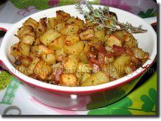 Recette Plat : Pommes de terre paysannes en mini-cocottes par Ottoki