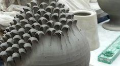 Slab Pottery, Pottery Mugs, Ceramic Pottery, Pottery Art, Pottery Sculpture, Sculpture Clay, Ceramic Sculptures, Ceramic Techniques, Pottery Techniques