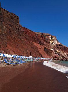 Red Beach, Santorini...