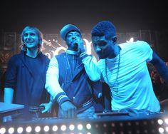 Usher, Ashley Benson, Rob Kardashian party at XS Nightclub