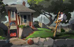 A R M A N D S E R R A N O: Pooch's House: A Simple Process
