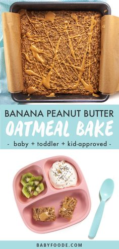 Healthy Baby Food, Healthy Toddler Meals, Kids Meals, Toddler Food, Easy Toddler Snacks, Banana Recipes Toddler, Baby Snacks, Kid Snacks, Food Baby