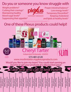 Plexus Leopard Product tear off flyer-with by MissouriPlexusSlim