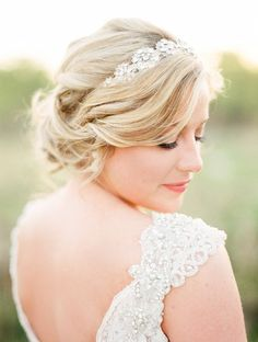 Wedding hairstyle idea; Featured Photographer: Krista A Jones Photography