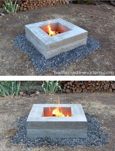 34 DIY Firepits Your Backyard Needs This Winter DIY Firepit and Outdoor Fireplace Plans Free Diy Fire Pit, Fire Pit Backyard, Cinder Block Fire Pit, Diy Outdoor Fireplace, Pergola Diy, Modern Pergola, Pergola Ideas, Fire Pit Materials, Portable Fire Pits