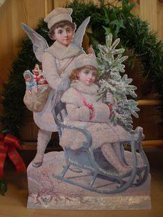 Winterangels with sly..... Die tollsten Winter-Engel, die ich je gemacht habe !!!