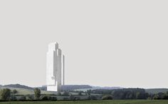 Suprematist Landscapes, Totems without Qualities by WAI Architecture Think Tank