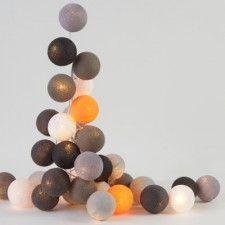 1000 images about guirlande boule on pinterest cousins cotton ball lights and cases. Black Bedroom Furniture Sets. Home Design Ideas