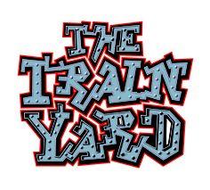 The Train Yard restaurant's logo by Duncan Lamont, Cruachan Creative, Scotland.