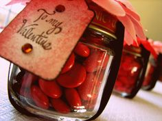 Baby Food Jar Valentine's |