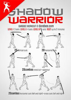 Shadow Warrior Workout