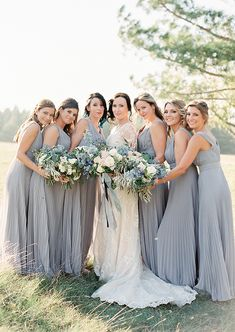 Elegant Blue And Ivory Winnipeg Wedding via Magnolia Rouge