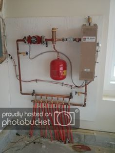 HVAC Can Be Easy With This Guide. You have to have your HVAC system, so allowing it to fall into wrack and ruin isn't acceptable. Pex Plumbing, Heating And Plumbing, Hydronic Heating, Underfloor Heating, Diy Carport, Radiant Floor, Radiant Heat, Heating And Cooling, Water Heating
