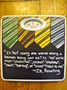 Motivational Bathroom Scales by ThePerspectiveShoppe on Etsy, $27.99