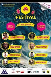 Fetival Moche! live music + surf! WorldWide Traveler: PENICHE, Rip Curl Pro 2012 @Rip Curl