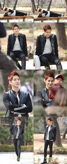 Kim Bum...why do Korean men so often have a great sense of fashion, as opposed to American men, who have no sense of fashion at all?
