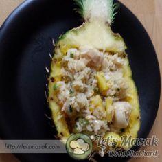 Resipi / resepi / recipe Nasi Goreng Nenas