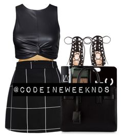 """9:26:15"" by codeineweeknds ❤ liked on Polyvore featuring Gianvito Rossi, NARS Cosmetics, Boohoo, Zero Gravity, Yves Saint Laurent, women's clothing, women's fashion, women, female and woman"