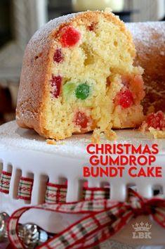 Christmas Bunt Cake, Christmas Snacks, Xmas Food, Christmas Cooking, Christmas Goodies, Christmas Recipes, Christmas Holiday, Christmas Brunch, Holiday Recipes