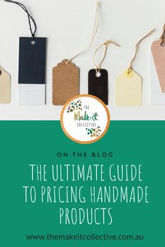 Pricing handmade products - and ultimately parting with - something you've poured your heart and soul into for countless hours can be a daunting prospect. Handmade Products, Handmade Gifts, The Make, How To Make, Consumerism, Business Tips, Entertaining, This Or That Questions, Simple