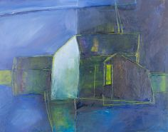 Bea van Twillert (1953-), House at night