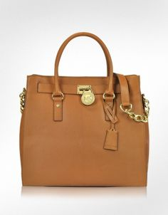 Michael Kors Hamilton Genuine Leather Tote