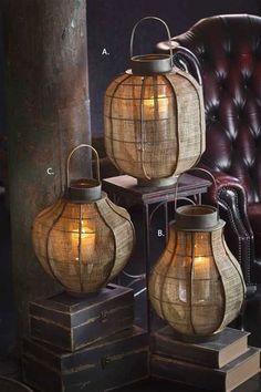 Lantern.  Idea for floor lamp