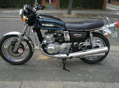 """GT750 Suzuki """"The Kettle"""" brilliant bike, I had three..."""