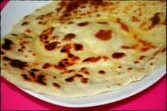 Naans au Fromage.