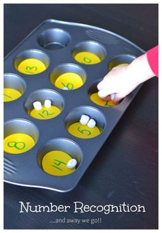 simple number recognition for preschoolers
