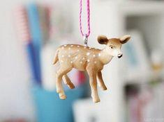 DIY-Anleitung: Kette mit Spielzeug-Tieranhänger basteln via DaWanda.com