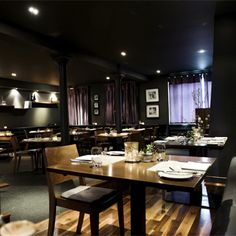 i'm craving a visit to The Kitchin on Edinburgh's waterfront - looks amazing!!