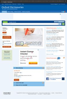 oxford english dictionary thesaurus online free