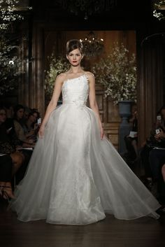Romona Keveza Bridal Spring 2014 - Slideshow - Runway, Fashion Week, Reviews and Slideshows - WWD.com