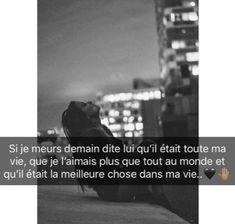 Wlh c vrai si je meurt dite lui sa a mnbb😓😭😍😍💍💍💍💍et qui refasse sa vie inshallah New Quotes, Love Quotes, Dear Crush, French Quotes, School Photos, Bad Mood, Love You Forever, True Stories, Couple Goals