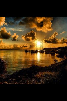 A beautiful Sunrise in Savannah GA.