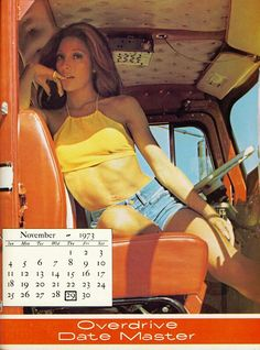November was a very good month for truck drivers - Overdrive Date Master Calendar Cool Trucks, Big Trucks, 10 4 Good Buddy, Trucks And Girls, Jeep Cars, Good Ole, Diesel Trucks, Truck Accessories, Semi Trucks