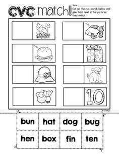 Print and Go! BUNDLE: CVC Word Work and Literacy Practice (NO PREP) -  Huge set of interactive practice pages for cvc words.  Many focus on a particular short vowel and many are mixed review.  Perfect set for a kindergarten or first grade classroom! $
