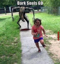 Après Pokémon Go, Dark Souls go ! Check more at http://gag.webissimo.biz/apres-pokemon-go-dark-souls-go/