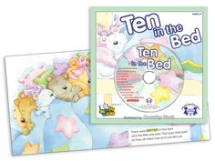 Ten In the Bed  What happens as the ten adorable teddy bears cuddle, laugh, and roll over together in the big comfy bed? Children will laugh as they learn to count from 1 to 10 in this delightfully illustrated book. Track 1 is the story read aloud! Track 2 is the story sung word-for-word so young readers can sing along with each page on their own.  $4.99