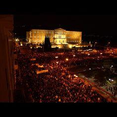 Memorandum 3. Series. Athens protests 6/11/12