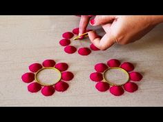 Beginners Easy And Small Rangoli Design Rangoli Designs Simple Diwali, Rangoli Designs Flower, Free Hand Rangoli Design, Rangoli Border Designs, Small Rangoli Design, Colorful Rangoli Designs, Rangoli Designs Images, Flower Rangoli, Simple Rangoli